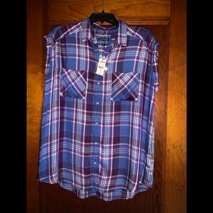 Express button down top /Brand New with Tags ❤️